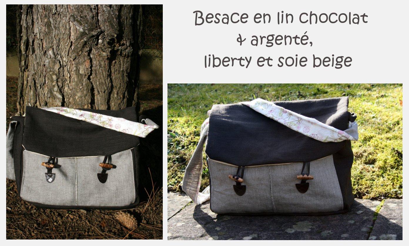 Bekannt La voilà ma besage en lin ! Couture pour les grands, Tutos / DIY  WR85
